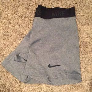 Nike spandex gray